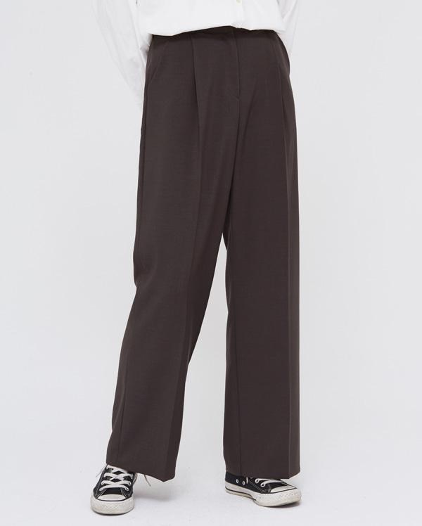 moi set wide slacks (s, m)