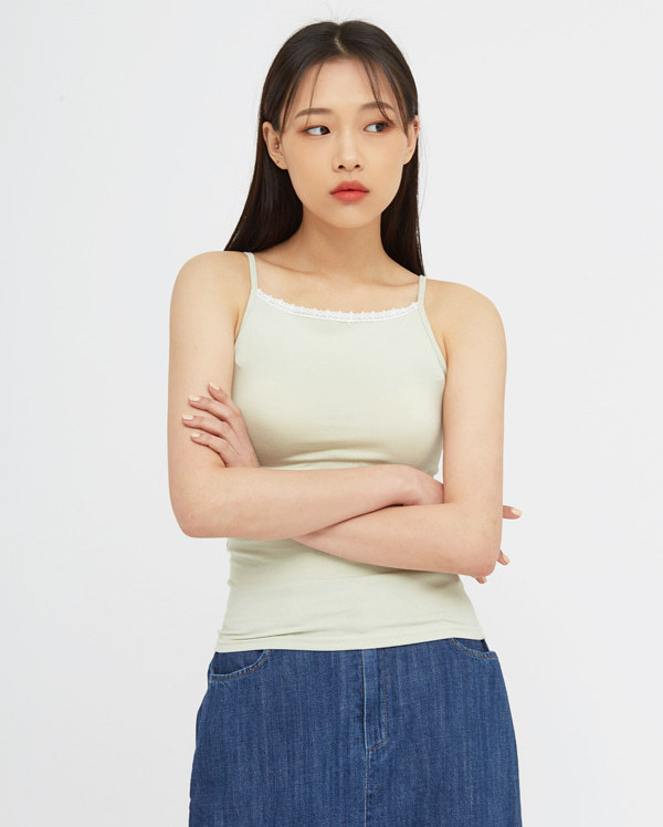 mini lace point sleeveless