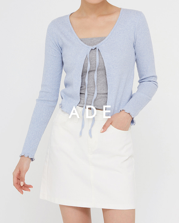 cotton mini skirt (s, m, l)