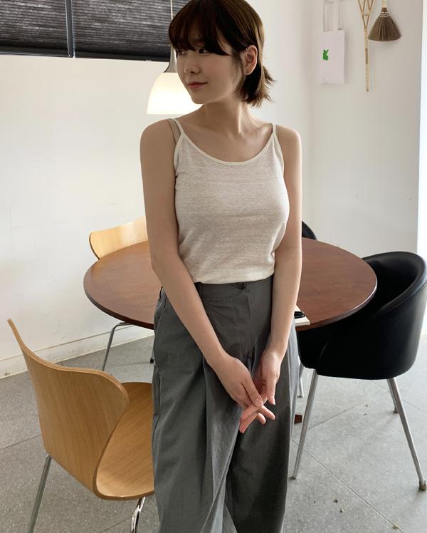 organic basic sleeveless