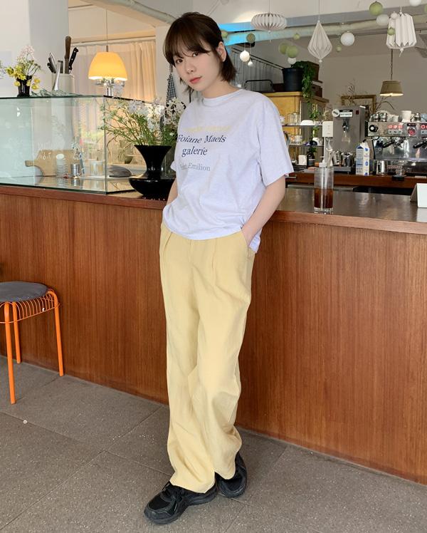 vivaz linen wide pants