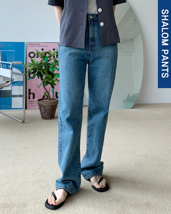 102_long deep denim pants (s, m, l)