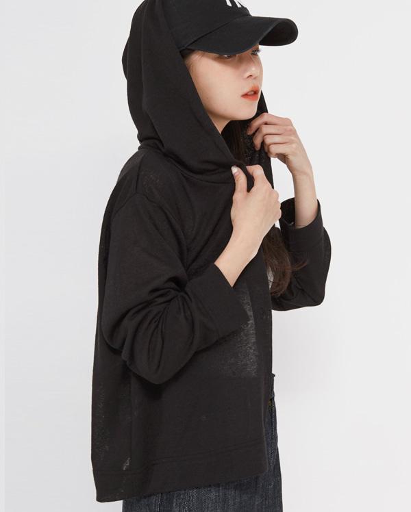 season hood cardigan