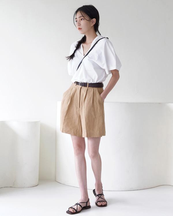 ever linen half pants