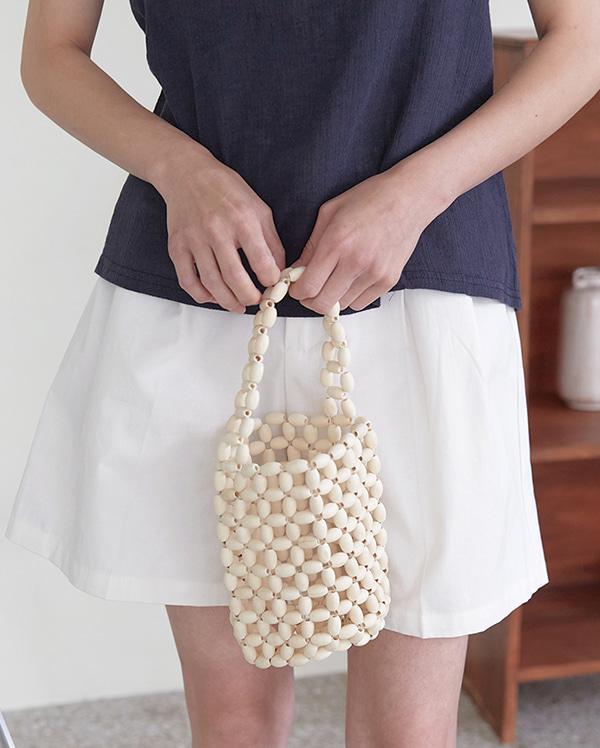 wood cylinder bag