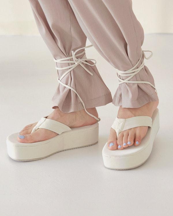 platform strap sandal (230-250)