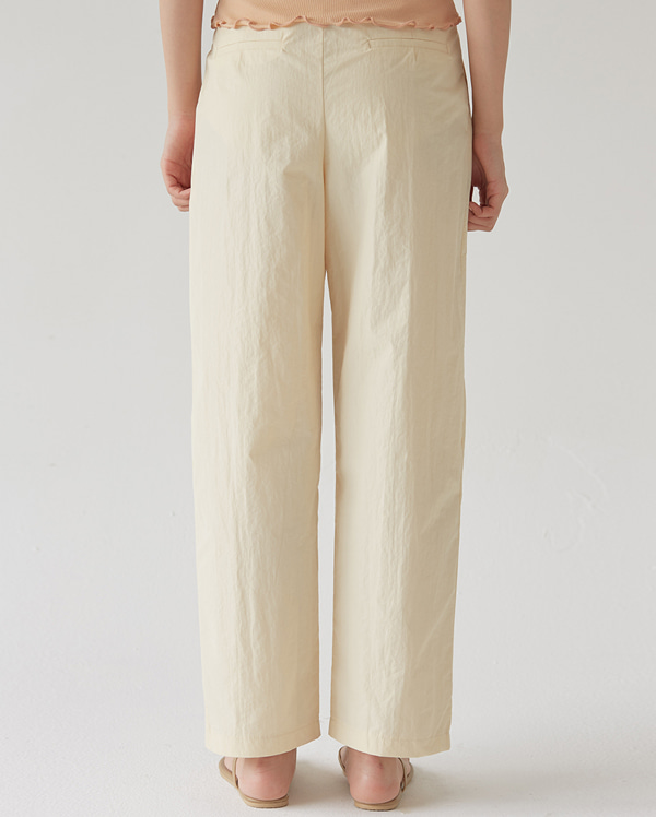lemon cool banding pants (s, m)