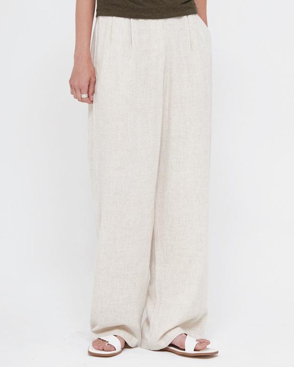 easy linen slacks (s, m)