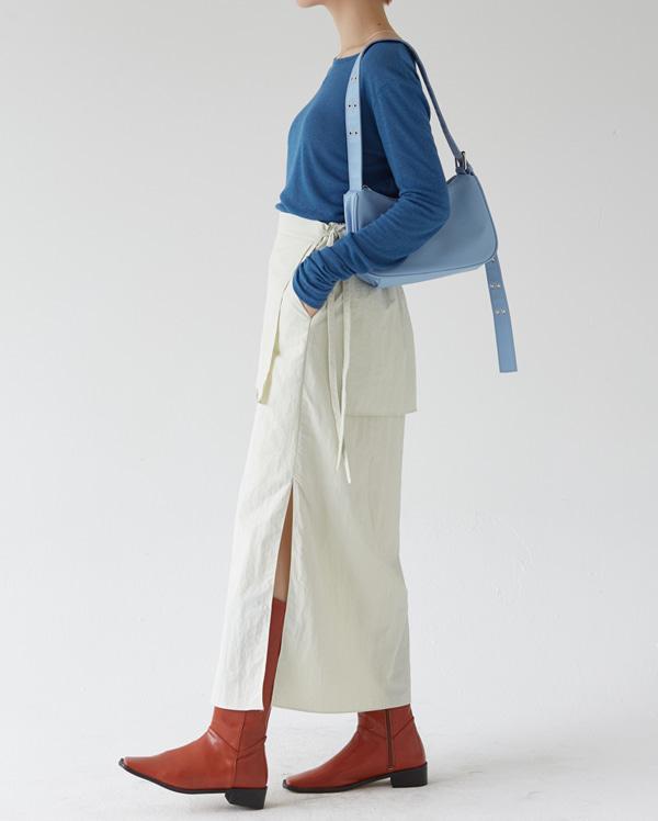 stone long skirt