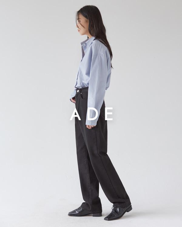 111_black cotton long pants (s, m, l)
