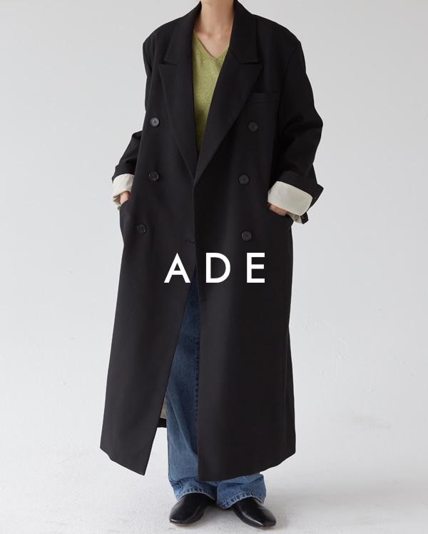loose fit long coat