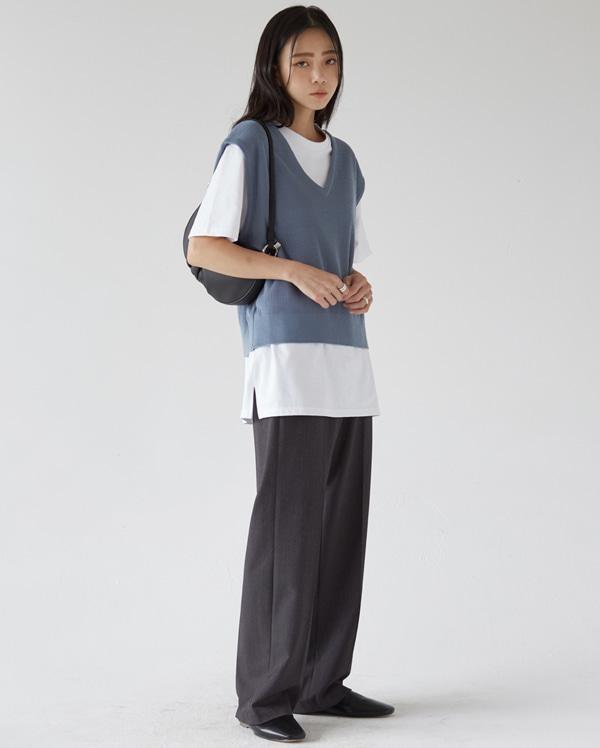 femme knit vest