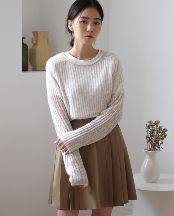color ring knit