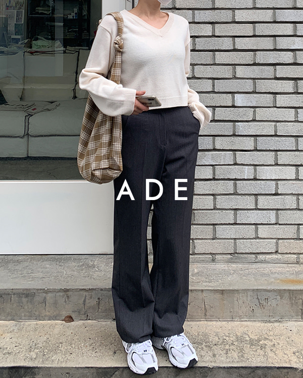 170cm cozy long slacks (s, m, l)