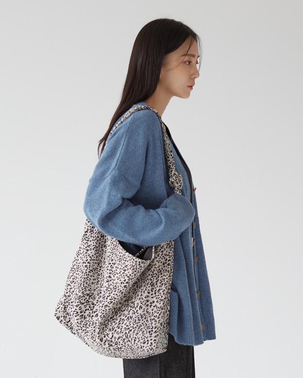 leopard knot cross bag
