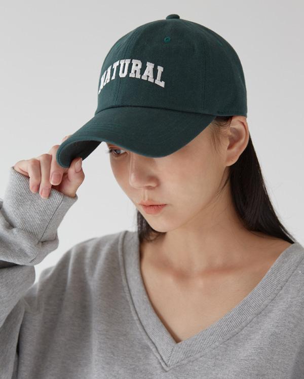 natural ball cap