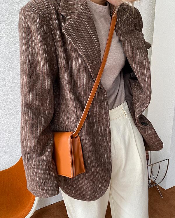 marvel stitch wool jacket