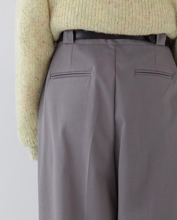 uncle como pintuck pants (s,m)