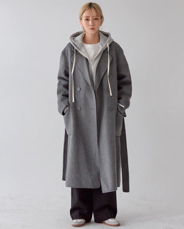 mood handmade double coat