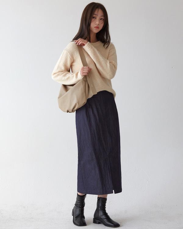 alpaca round knit