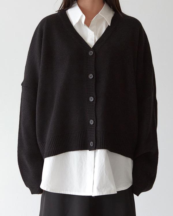 fresh loose knit cardigan