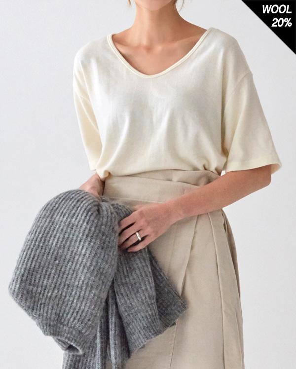 angora basic wool T