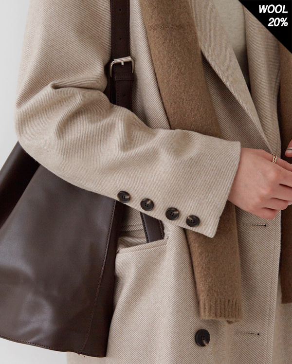 minuet classic double long coat