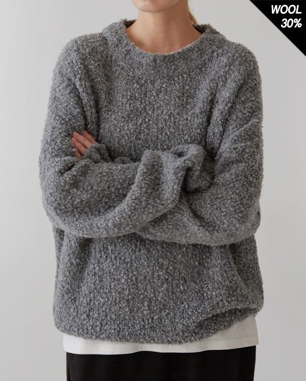 slow alpaca over round knit