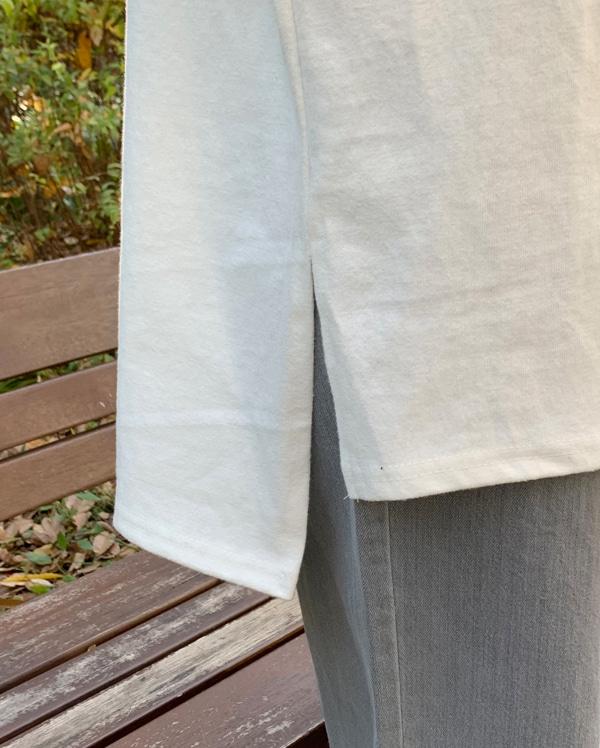 basic round neck cotton T