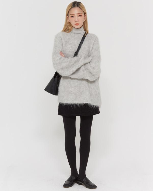 candy alpaca knit