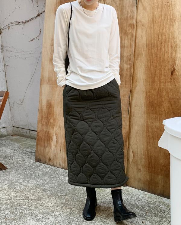 margarine quilting skirt
