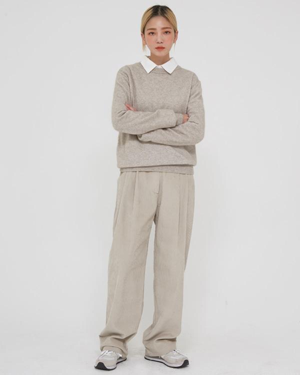 sweet corduroy loosy pants (s, m)