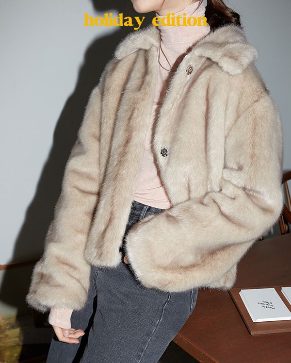 gorgeous petit fur jacket