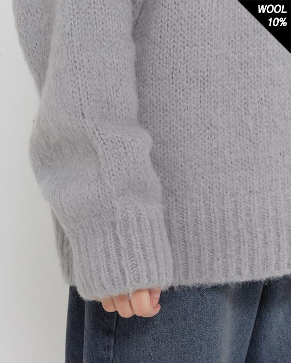 day rush round wool knit