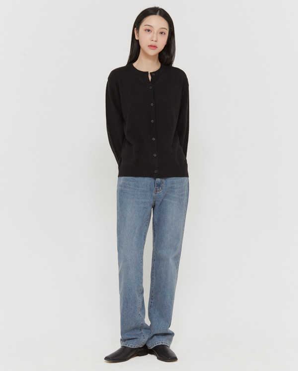 tin straight napping denim pants (s, m, l)