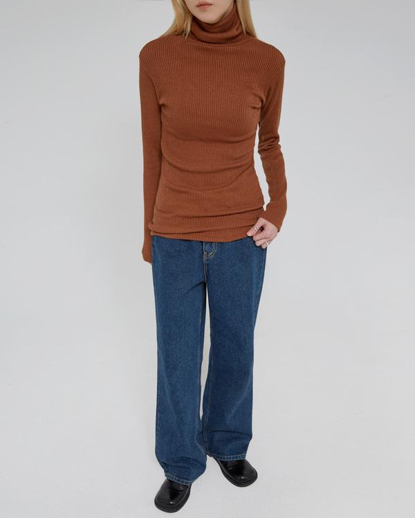beinny wide denim pants (s, m, l)