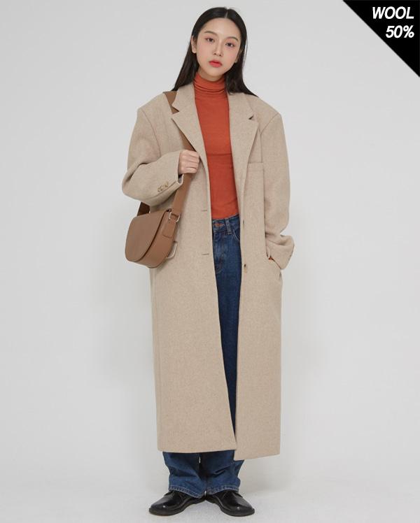 classic over long coat