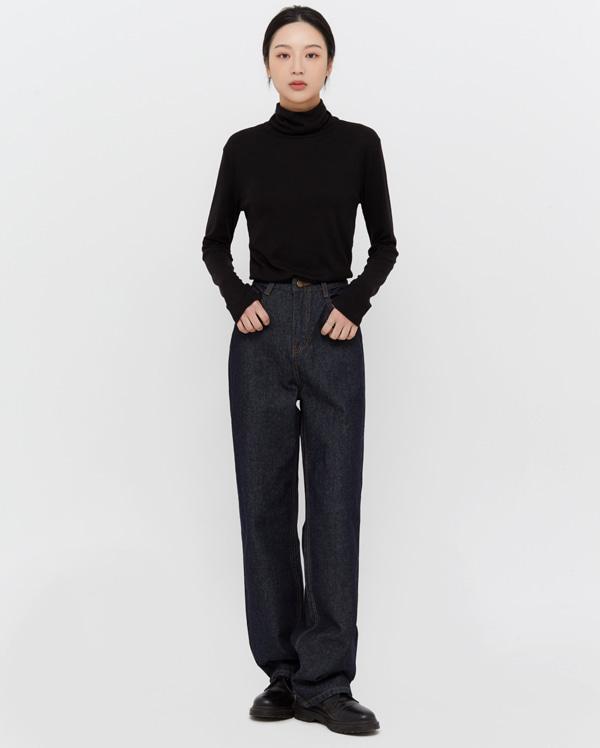 ones wide denim pants (s, m, l)