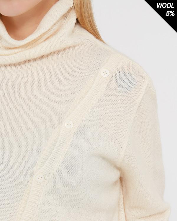 slash alpaca polar knit