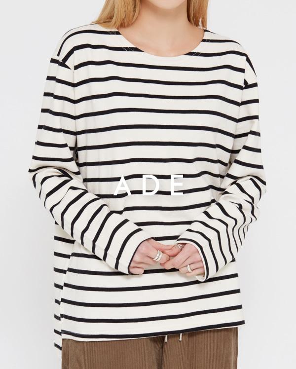 low stripe round T