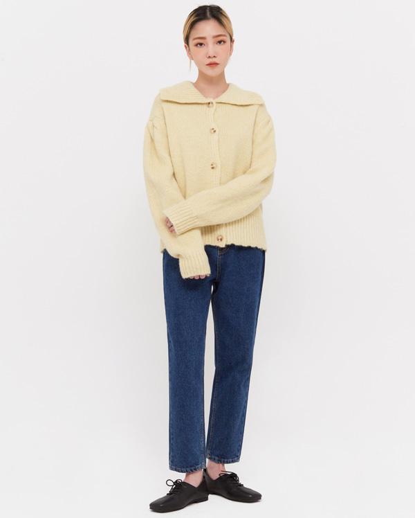 jin baggy fit crop pants (s, m, l)
