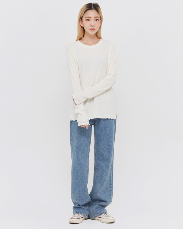 story daing denim pants (s, m, l)