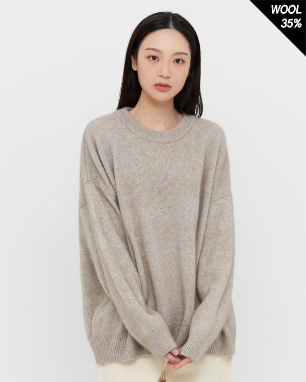 inoff raccoon round knit