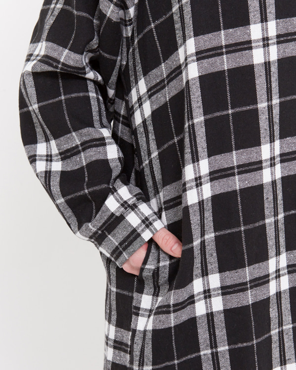 soy gingham check shirt ops