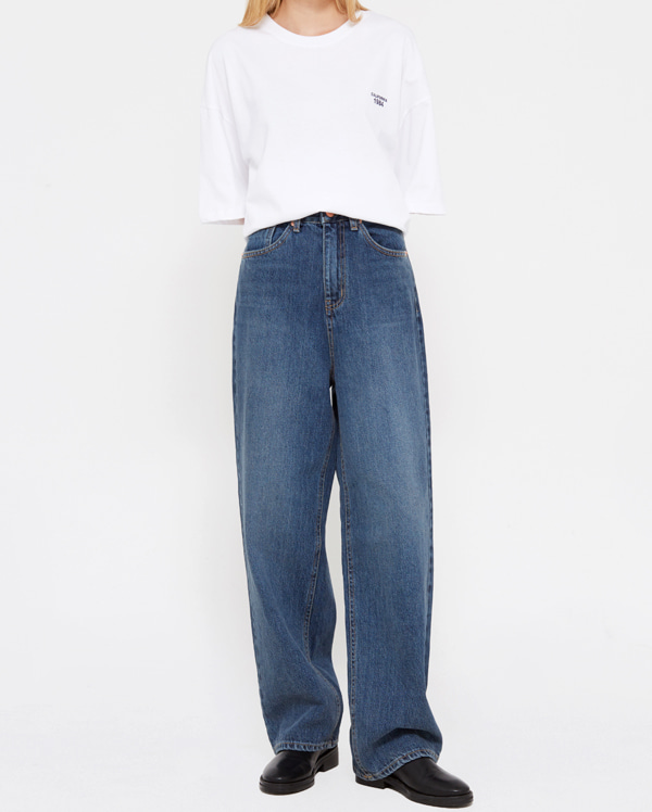 ston deep denim pants (s, m, l)