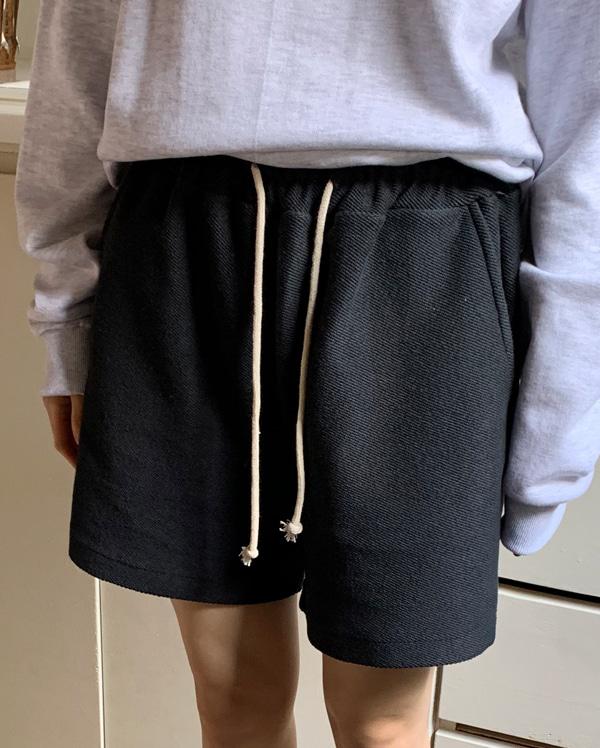 india waffle short pants