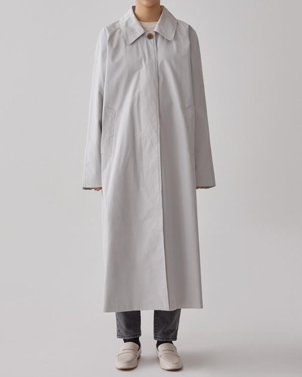 abel basic long trench coat