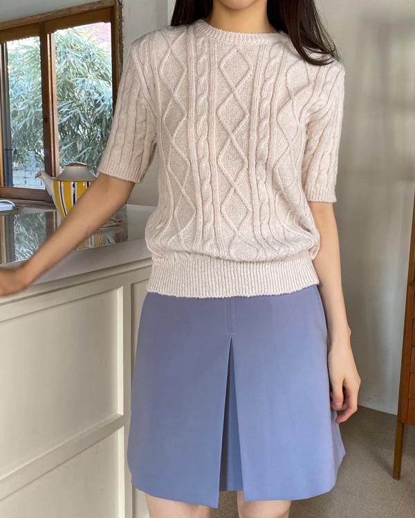 ben twist half knit