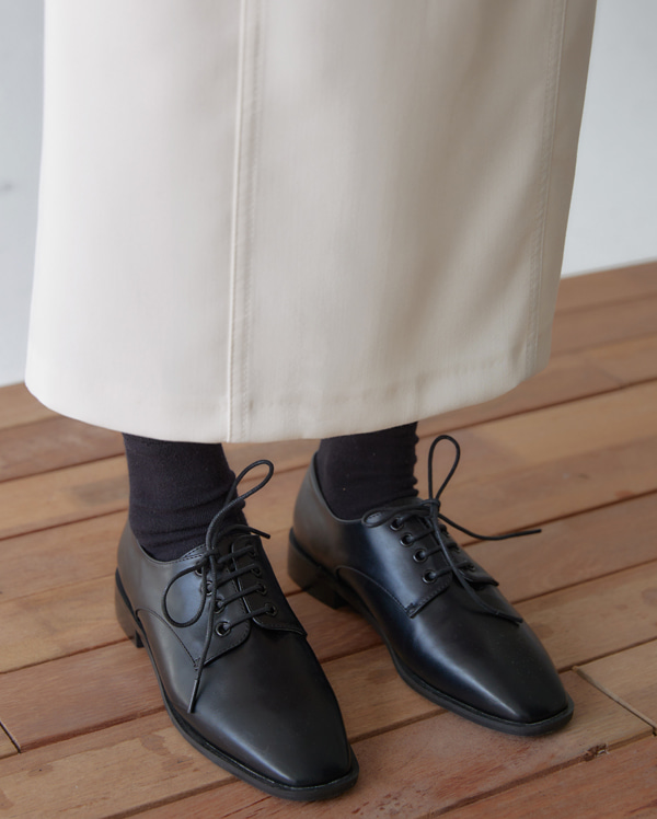 neat oxford basic loafer (230-250)