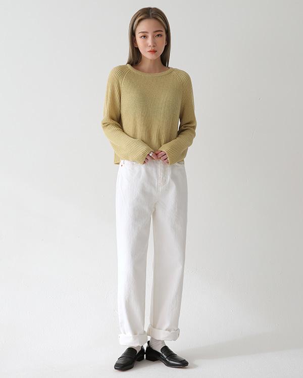 marcel cozy crop knit